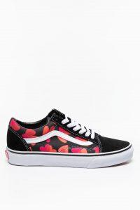 נעלי סניקרס ואנס לנשים Vans Old Skool - צבעוני כהה