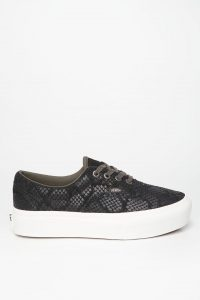 נעלי סניקרס ואנס לנשים Vans Era Platform - שחור
