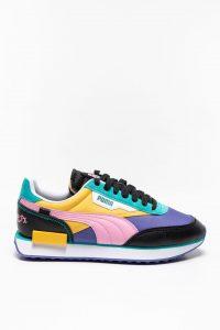 נעלי סניקרס פומה לגברים PUMA Future Rider - צבעוני כהה