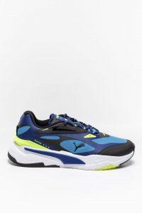 נעלי סניקרס פומה לגברים PUMA Fast Tech Star - צבעוני כהה