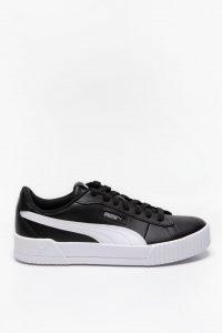 נעלי סניקרס פומה לנשים PUMA Carina Crew - שחור/לבן