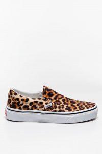 נעלי סניקרס ואנס לנשים Vans Classic Slip-On - מנומר