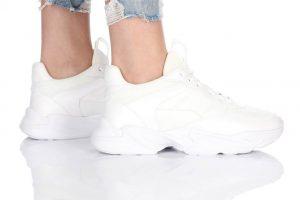 נעלי סניקרס בולבוקסר לנשים Bullboxer Mia - לבן