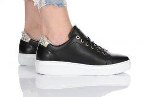נעלי סניקרס בולבוקסר לנשים Bullboxer Mariah - שחור