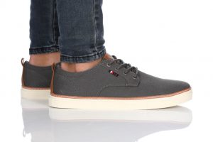 נעלי סניקרס בולבוקסר לגברים Bullboxer Alonzo - אפור כהה