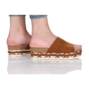 נעלי סניקרס בולבוקסר לנשים Bullboxer Morgan - חום