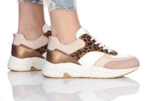 נעלי סניקרס בולבוקסר לנשים Bullboxer Bella - צבעוני/לבן