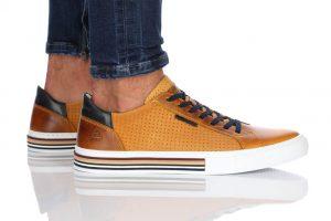 נעלי סניקרס בולבוקסר לגברים Bullboxer Ethan - צהוב