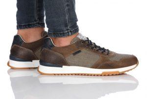 נעלי סניקרס בולבוקסר לגברים Bullboxer Alfredo - צבעוני כהה