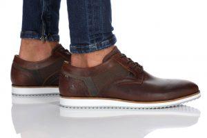 נעלי אלגנט בולבוקסר לגברים Bullboxer Jacob - חום כהה