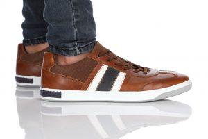 נעלי סניקרס בולבוקסר לגברים Bullboxer Ariel - חום