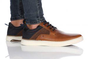 נעלי סניקרס בולבוקסר לגברים Bullboxer Eden - חום