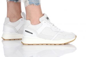 נעלי סניקרס בולבוקסר לנשים Bullboxer Alice - לבן