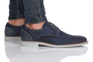 נעלי אלגנט בולבוקסר לגברים Bullboxer Alejandro - כחול כהה