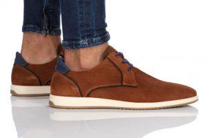 נעלי סניקרס בולבוקסר לגברים Bullboxer Elian - חום