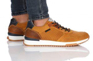 נעלי סניקרס בולבוקסר לגברים Bullboxer Aiden - חום בהיר