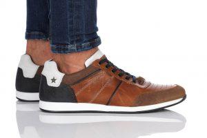 נעלי סניקרס בולבוקסר לגברים Bullboxer Reece - חום