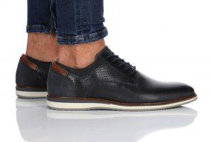נעלי אלגנט בולבוקסר לגברים Bullboxer Lincoln - כחול כהה