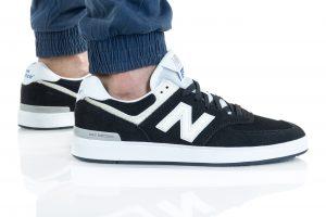 נעלי סניקרס ניו באלאנס לגברים New Balance AM574 - שחור/לבן