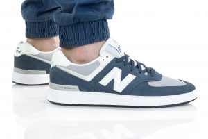 נעלי סניקרס ניו באלאנס לגברים New Balance AM574 - כחול
