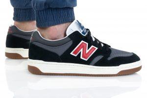 נעלי סניקרס ניו באלאנס לגברים New Balance BB480 - שחור