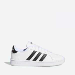 נעלי סניקרס אדידס לנשים Adidas Grand Court - לבן/שחור