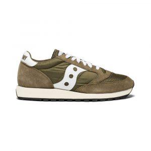 נעלי סניקרס סאקוני לגברים Saucony Jazz Original Vintage - חום/ירוק