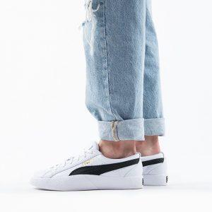 נעלי סניקרס פומה לנשים PUMA Love Wns - לבן/שחור
