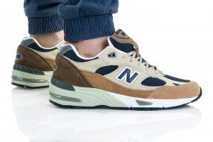 נעלי סניקרס ניו באלאנס לגברים New Balance M991 - חום