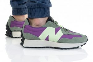 נעלי סניקרס ניו באלאנס לגברים New Balance MS327 - סגול