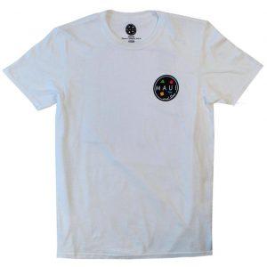 חולצת T מאוואי לגברים MAUI ARNOLD SHARKLEY - לבן