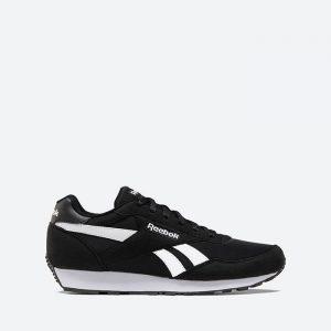 נעלי סניקרס ריבוק לגברים Reebok Rewind Run - שחור/לבן