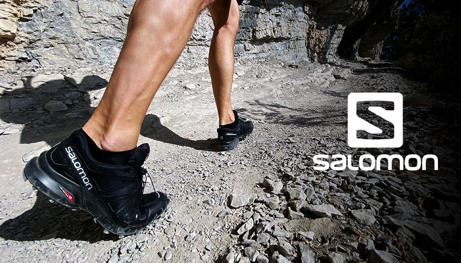 נעלי סלומון לגברים במבצע