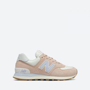 נעלי סניקרס ניו באלאנס לנשים New Balance WL574 - ורוד/כחול