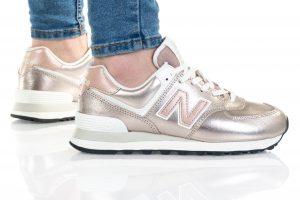 נעלי סניקרס ניו באלאנס לנשים New Balance WL574 - זהב