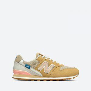 נעלי סניקרס ניו באלאנס לנשים New Balance WL996 - צהוב