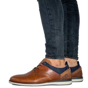 נעלי אלגנט בולבוקסר לגברים Bullboxer Joshua - חום