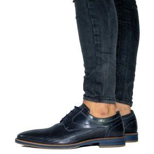נעלי אלגנט בולבוקסר לגברים Bullboxer Camilo - כחול כהה