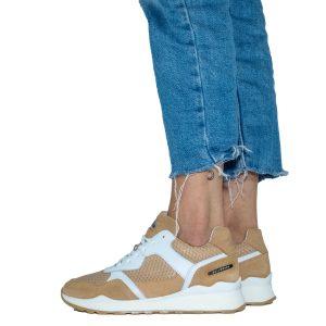 נעלי סניקרס בולבוקסר לנשים Bullboxer Alice - צבעוני/לבן