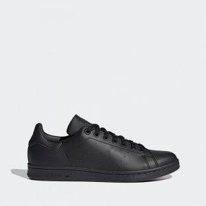 נעלי סניקרס אדידס לגברים Adidas Stan Smith vegan - שחור