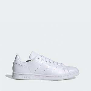 נעלי סניקרס אדידס לגברים Adidas Stan Smith vegan - לבן