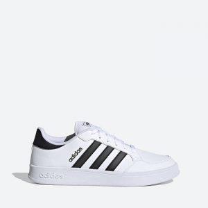 נעלי סניקרס אדידס לגברים Adidas Breaknet - לבן/שחור