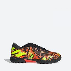 נעלי קטרגל אדידס לגברים Adidas Nemeziz Messi .3 TF - צבעוני