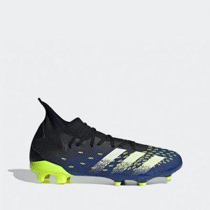 נעלי קטרגל אדידס לגברים Adidas PREDATOR FREAK.3 FG - צבעוני כהה