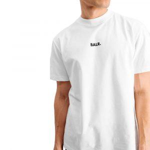חולצת T באלר לגברים BALR PSG Box Fit - לבן