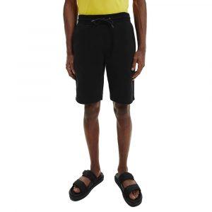 מכנס ספורט קלווין קליין לגברים Calvin Klein Cotton Jogger - שחור