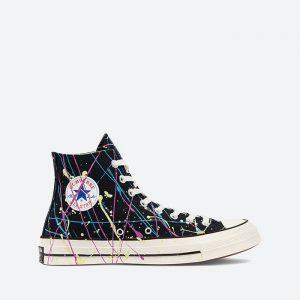 נעלי סניקרס קונברס לגברים Converse Chuck 70 - שחור