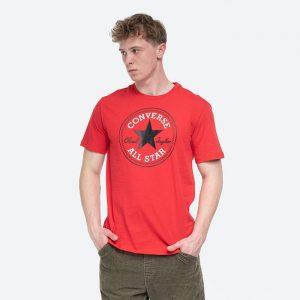 חולצת T קונברס לגברים Converse Nova Chuck Patch Tee - אדום