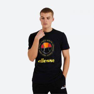 חולצת T אלסה לגברים Ellesse Campa Tee - שחור