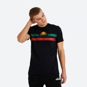 חולצת T אלסה לגברים Ellesse Glisenta - שחור